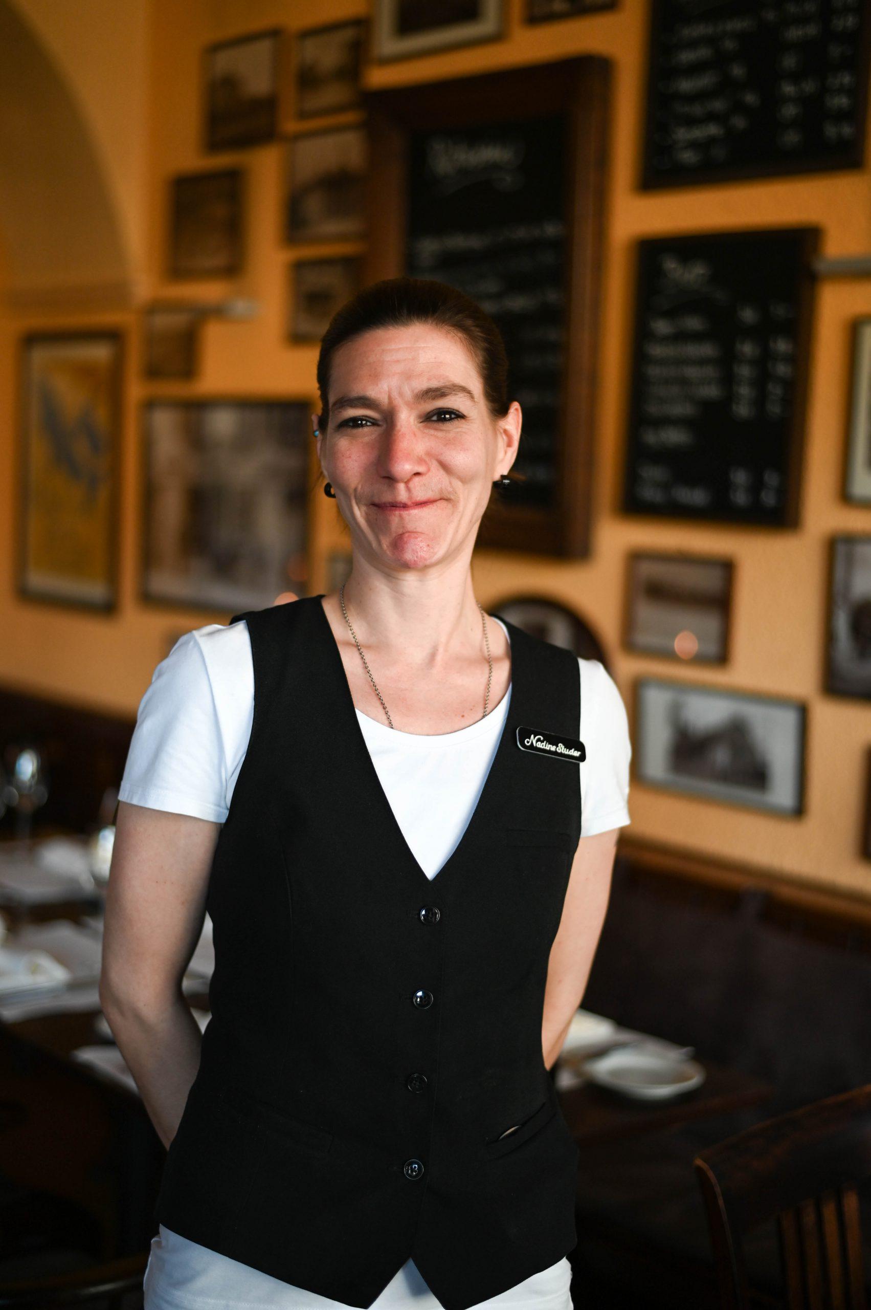 Nadine Studer (Restaurations- fachfrau)